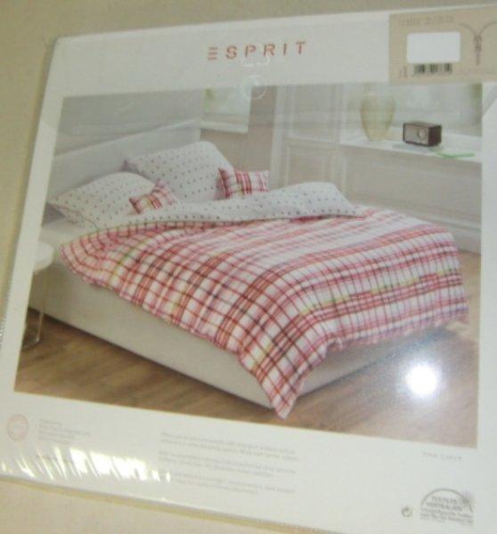 Wende Bettwäsche von ESPRIT HOME Pink Check