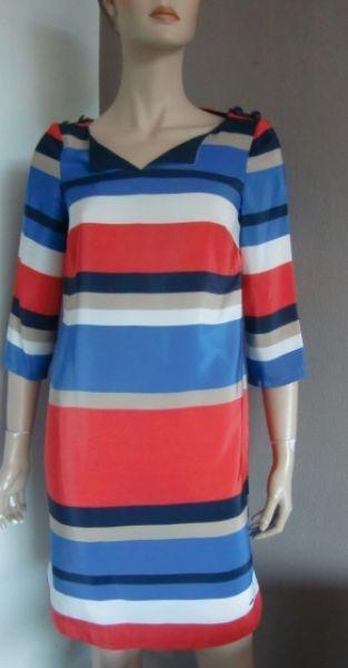 Tommy Hilfiger Kleider gestreift 34-40 blau rot
