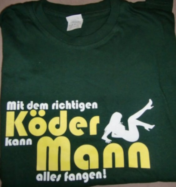 Fun T-Shirt Spruchshirt Angler Shirt Sonderposten