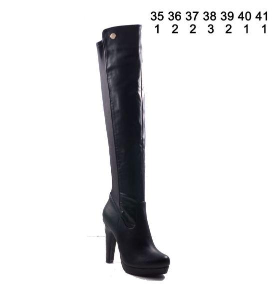 Jumex Damen Schuhe<br> Damenschuhe<br>Stiefel Schwarz