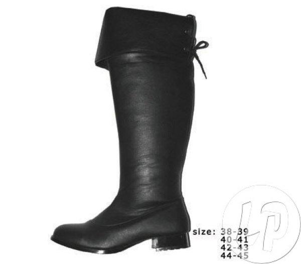 Para butów rozmiar<br>40-41 koronki CZARNY