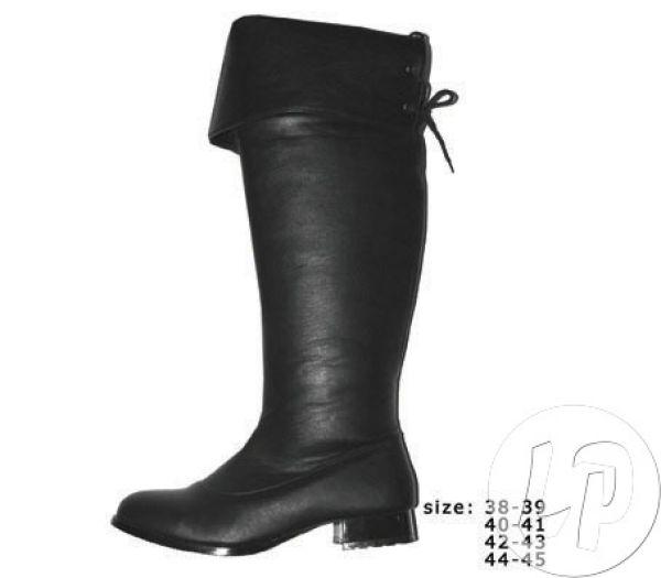 Para butów rozmiar<br>44-45 koronki CZARNY
