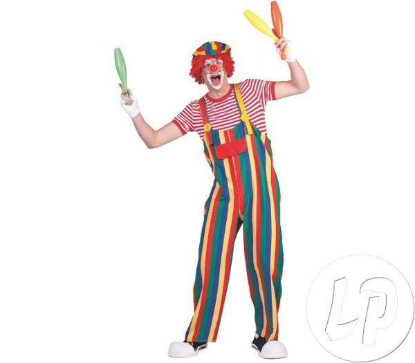 wielokolorowe<br> clown kombinezon<br>mężczyzna Rozmiar M