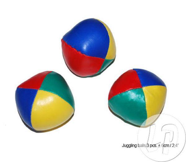 set van 3<br>jongleerballen 6cm