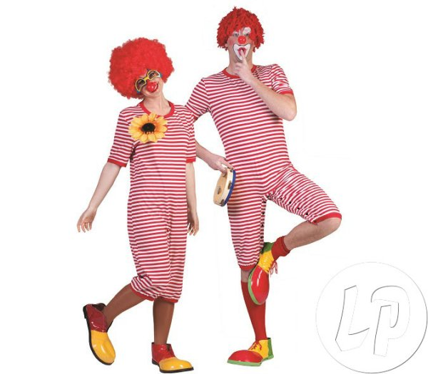 swimsuit costume<br>clown RED Tai adult