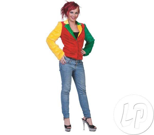 CLOWN imitacja<br> futra rozmiar XL<br>kurtka kobieta