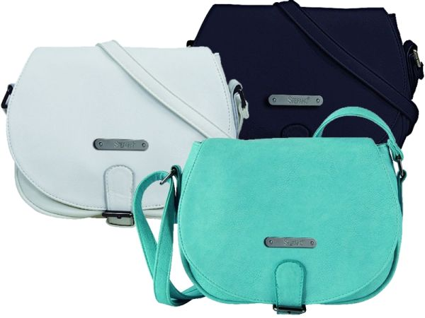 Shoulderbag by<br> STEFANO in 3<br>colors available