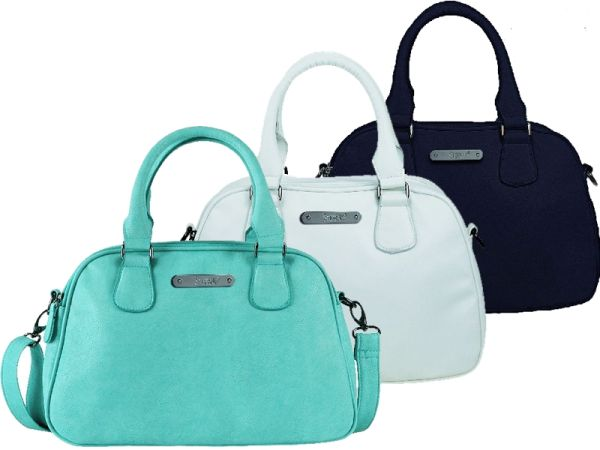 2 handle bag by<br> STEFANO in 3<br>colors available
