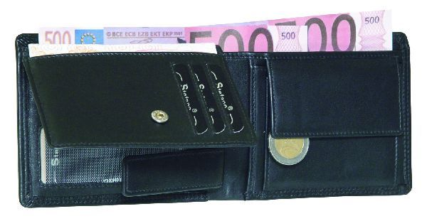 Exclusive Wallet<br> with double<br>stitching