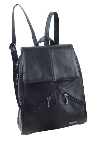 Lambskin Leather<br>Backpack by STEFANO