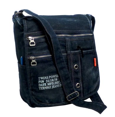 DJ spacious bag<br> made of jeans<br>STEFANO