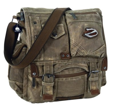 Large DJ Bag Canvas Club