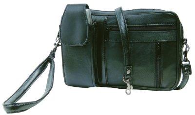 Herren - Tasche<br> aus Leder von<br>STEFANO