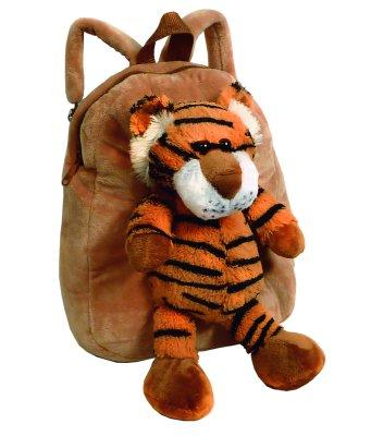 Kinder Plüsch<br> Rucksack<br> -Sortiment Tiger, ...
