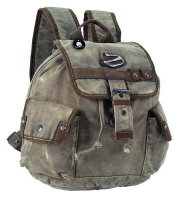 High quality<br> &quot;CANVAS<br>CLUB&quot; backpack