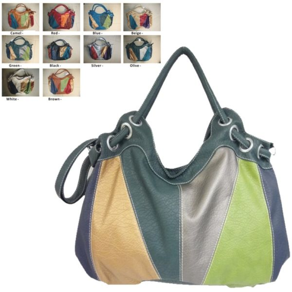 Range - shoulder bag in trendy color mix