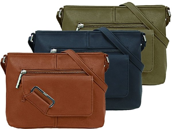 Shoulderbag by<br> STEFANO in 2<br>colors available