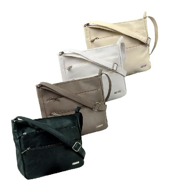 Small zippered shoulder bag  Modena  by STEFANO