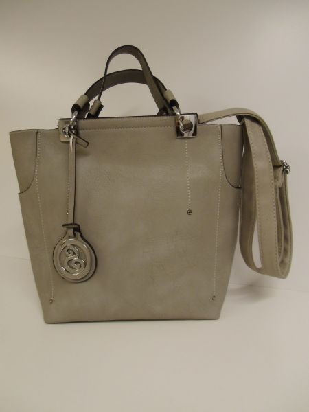 Chic Bag in Bag in<br>gray and mud