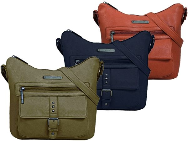 Roomy shoulder bag<br>2 colors