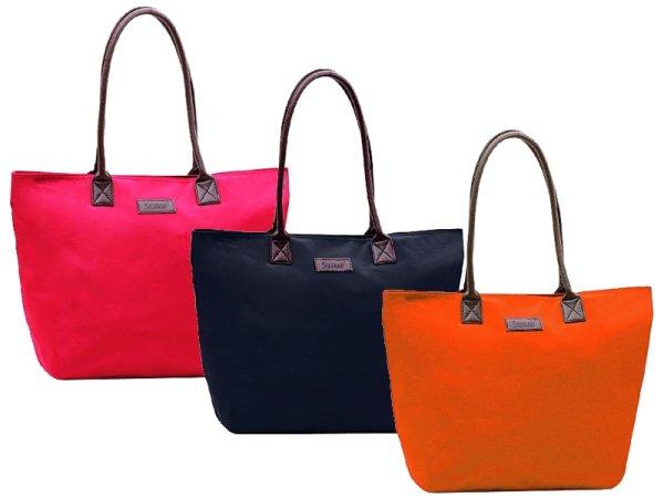 Großer STEFANO<br> Shopper in 3<br>Farben lieferbar