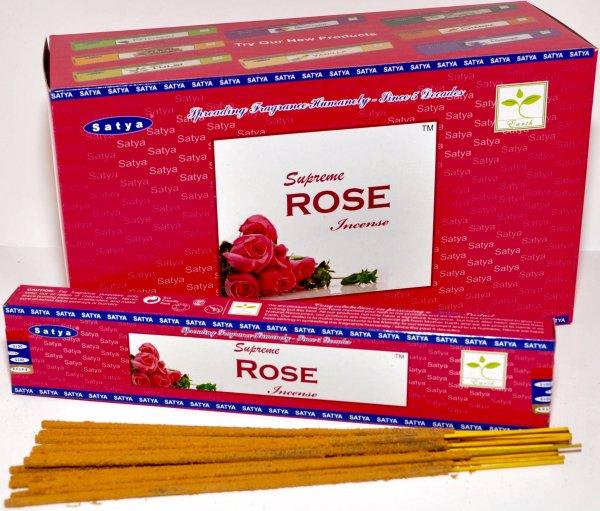 Satya Supreme<br>Incense Rose