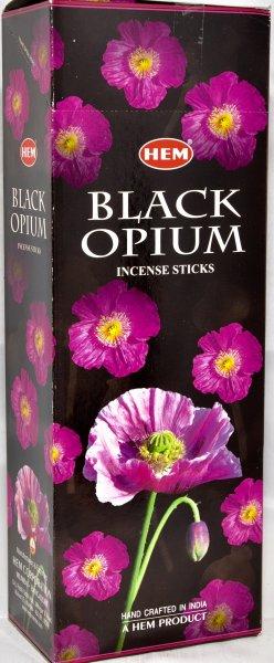 Schwarz Opium<br>Räucherstäbchen