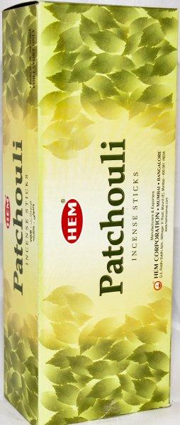 Patchouli<br>Räucherstäbchen