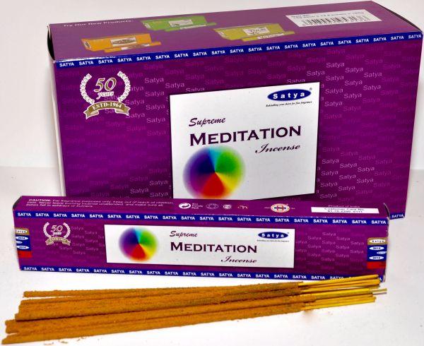 Satya Supreme<br>Meditation incense