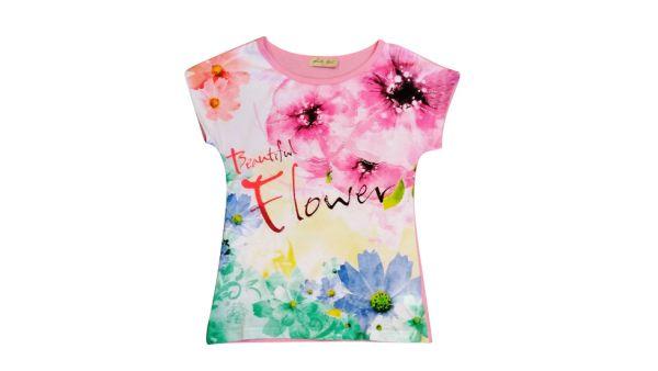 Kinder Mädchen /<br> Girls; T-Shirt<br>YL-575