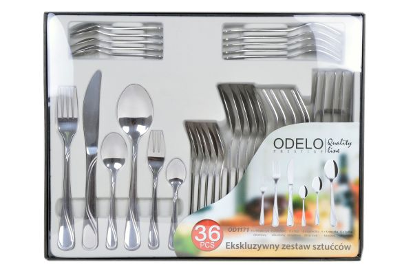 EXCLUSIVE SET<br> CUTLERY CUTLERY<br>36EL ODELO
