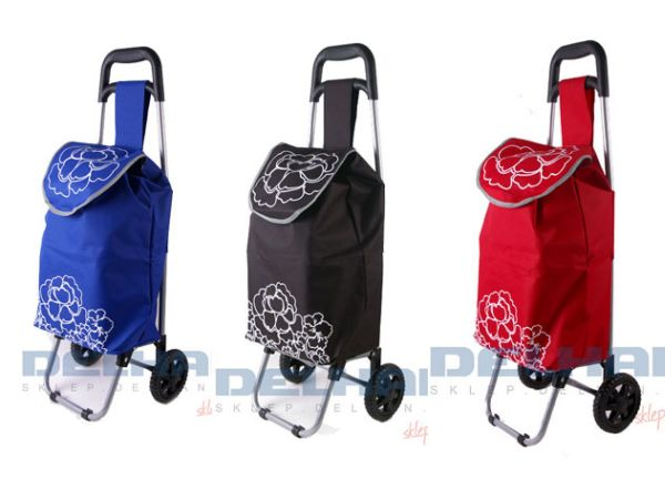 Wózek na kółkach,<br> torba na zakupy /<br>DE0142