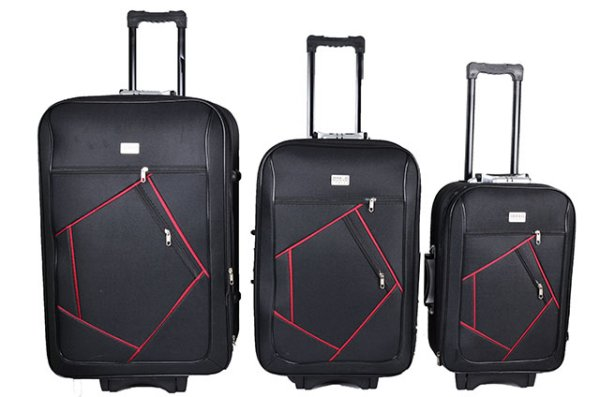 SUITCASE TRAVEL<br> LUGGAGE 3in1 kit<br>ODELO TRAVEL