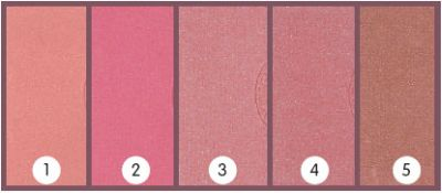 Blusher BK DeLuxe<br>- different colors