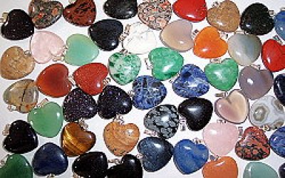 Heart pendant mix<br>50 pieces