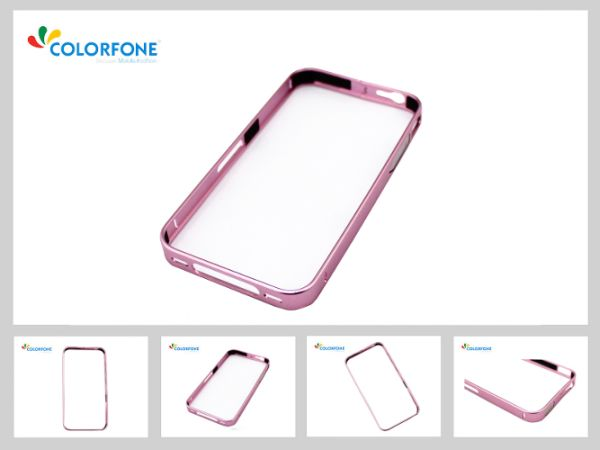 Metal Bumper Case<br> for Samsung Galaxy<br>S5 D. Rose