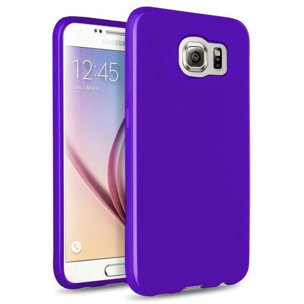 Großfall Cool Skin<br> Samsung Galaxy S6<br>D. Violett