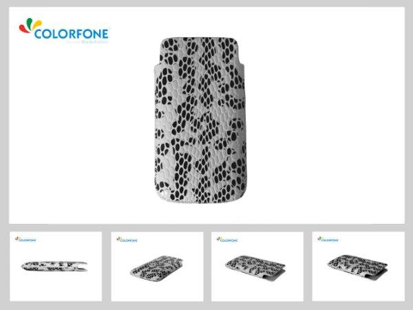 Case Handheld<br> Color Size XL<br>White Serpentine