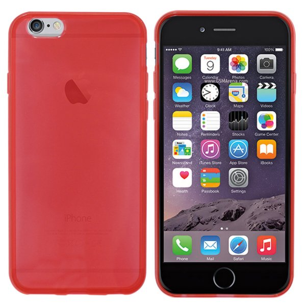 CoolSkin3T Hülle<br> für Apple iPhone 6<br>Tr. Rote