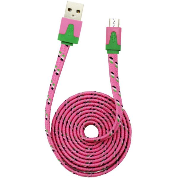USB Cable Color<br> Universal Micro<br>USB Conn. L. Rose