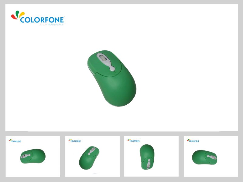 Optical Mouse<br>&#39;Coco&#39; Green