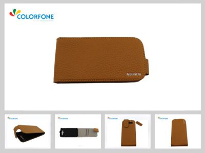 Case for Apple iPhone 5/5S Brown leather1