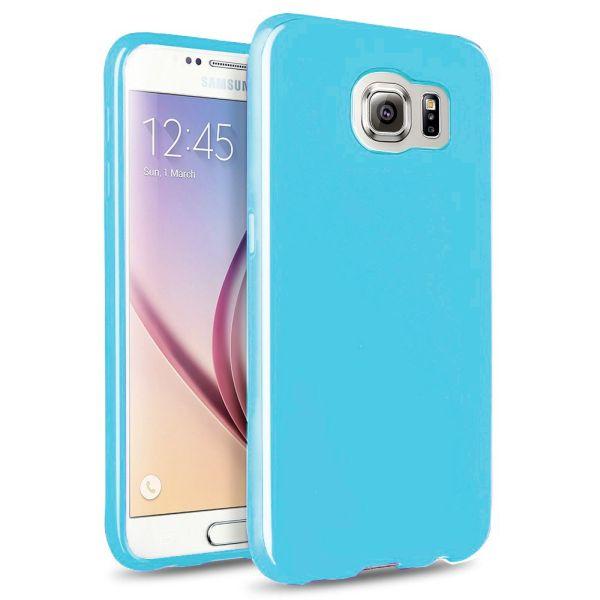 Großfall Cool Skin<br> Samsung Galaxy S6<br>-L. Blau
