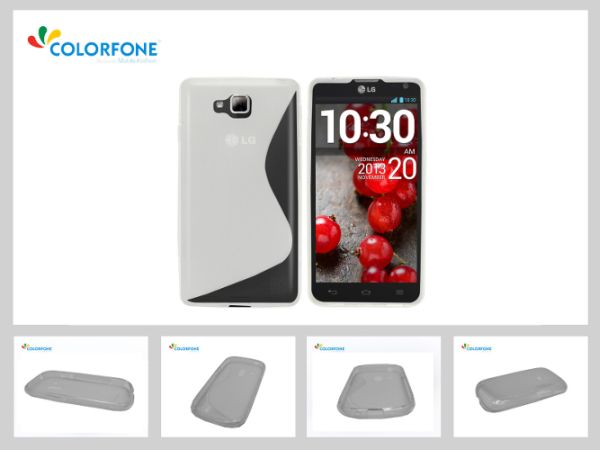 CoolSkin3 Case for<br> LG L65 D285<br>Transparent White