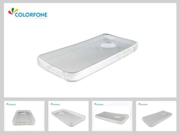 Cover CoolSkin3T<br> Apple iPhone 5/5 S<br>Transparent wh