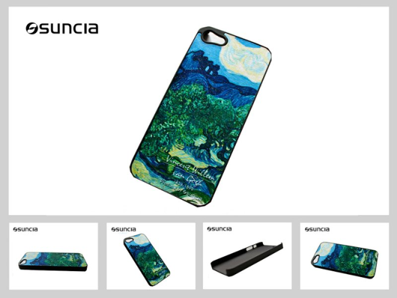 Back Cover ArtSkin<br> Nr. 7 Apple iPhone<br>5 / 5S