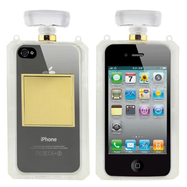 Fashion Case # 2<br> Apple iPhone 4/4 S<br>Tr. White