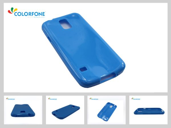 Cool Skin Case<br> Samsung GalaxyS5<br>Piano Light Blue