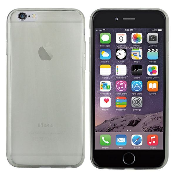CoolSkin3 Slim<br> Case for Apple<br>iPhone 6 Tr.Zwart