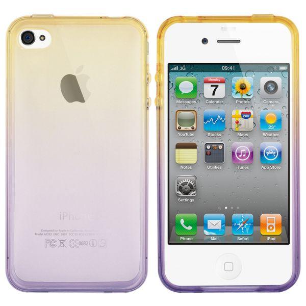 Case Cool Skin<br> Rainbow 2 Apple<br>iPhone 5/5 S Orange